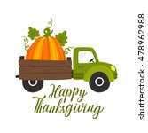 Vector Thanksgiving Background...