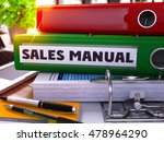 sales manual   green office... | Shutterstock . vector #478964290