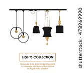 lights collection symbols set.... | Shutterstock .eps vector #478969990