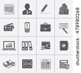 business and finance icons set | Shutterstock .eps vector #478980268