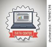 data center laptop doc   Shutterstock .eps vector #478987198