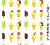 vector flat style colorful... | Shutterstock .eps vector #478989364