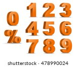 templates 3d of figures of... | Shutterstock .eps vector #478990024
