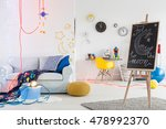 cosy  modern room for a young... | Shutterstock . vector #478992370