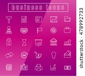 vector icons business office...