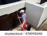 waterproofing foundation... | Shutterstock . vector #478998340