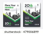green color scheme with city...   Shutterstock .eps vector #479006899