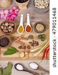 spice and herbs  food... | Shutterstock . vector #479011468