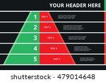 layered pyramid chart diagram... | Shutterstock .eps vector #479014648