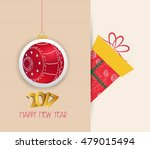 merry christmas and happy new...   Shutterstock .eps vector #479015494