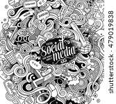cartoon cute doodles hand drawn ... | Shutterstock .eps vector #479019838