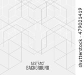 vector abstract boxes... | Shutterstock .eps vector #479021419