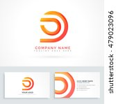 abstract shape logo design | Shutterstock .eps vector #479023096