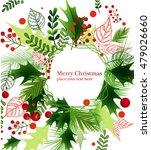 christmas background. vector... | Shutterstock .eps vector #479026660
