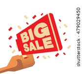 big sales symbol for poster.... | Shutterstock .eps vector #479029450
