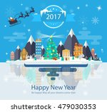 illustration of a happy new... | Shutterstock .eps vector #479030353