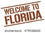 welcome to florida | Shutterstock .eps vector #479038600