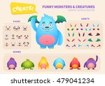 Cute Cartoon Monster Creation...