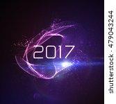 happy new 2017 year. vector... | Shutterstock .eps vector #479043244