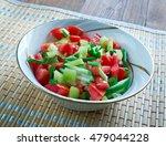 Small photo of Gazan Dagga - Palestinian vegetable salad