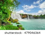 the dray nur waterfall on the... | Shutterstock . vector #479046364
