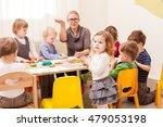 interesting lesson modeling | Shutterstock . vector #479053198