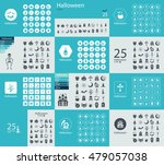 flat concept design with shadow ... | Shutterstock .eps vector #479057038