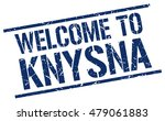 welcome to. knysna. stamp | Shutterstock .eps vector #479061883