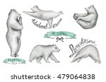 Set Of Hand Drawn  Illustratio...