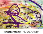 abstract painting for background | Shutterstock . vector #479070439