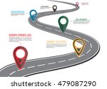 street road map  business... | Shutterstock .eps vector #479087290