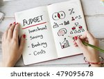 Small photo of Budget Commerce Revenue Accounting Assets Concept