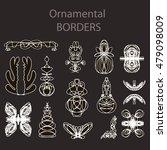 ornamental borders   Shutterstock .eps vector #479098009