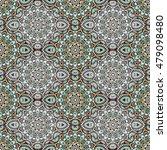 ornamental seamless pattern.... | Shutterstock .eps vector #479098480