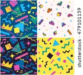 set of seamless patterns. the... | Shutterstock .eps vector #479101159