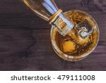 top of view of barman pouring... | Shutterstock . vector #479111008