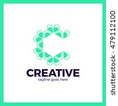 clever  creative  triangle ... | Shutterstock .eps vector #479112100