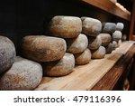 typical tuscan pecorino cheese... | Shutterstock . vector #479116396