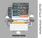 flat concept of program coding  ...
