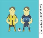 japan football players   Shutterstock .eps vector #479125699