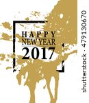 2017 happy new year card or... | Shutterstock .eps vector #479130670