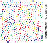 abstract color dot background | Shutterstock .eps vector #479131918