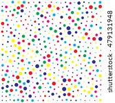 abstract color dot background | Shutterstock .eps vector #479131948