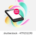 abstract vector background with ... | Shutterstock .eps vector #479151190