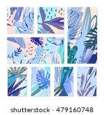 set of creative universal... | Shutterstock .eps vector #479160748