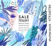 creative social media sale... | Shutterstock .eps vector #479160784