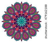 mandala vector for art ... | Shutterstock .eps vector #479162188