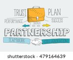 partnership concept | Shutterstock .eps vector #479164639