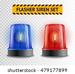 Two Police Flasher Sirens Set...