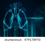 transparent human lungs in blue ...   Shutterstock .eps vector #479178970
